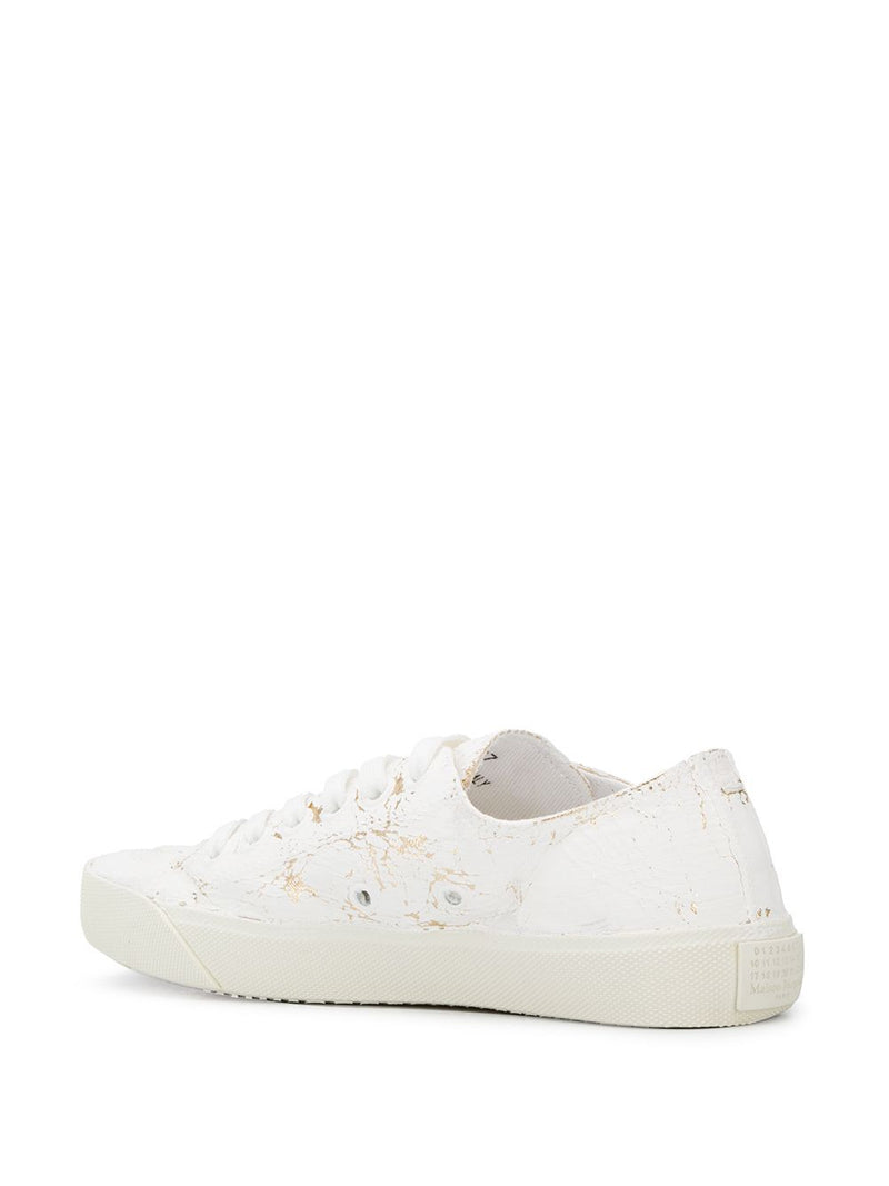 MAISON MARGIELA WOMEN COATED TABI SNEAKERS