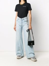 OFF-WHITE WOMEN OW LOGO CASUAL TEE