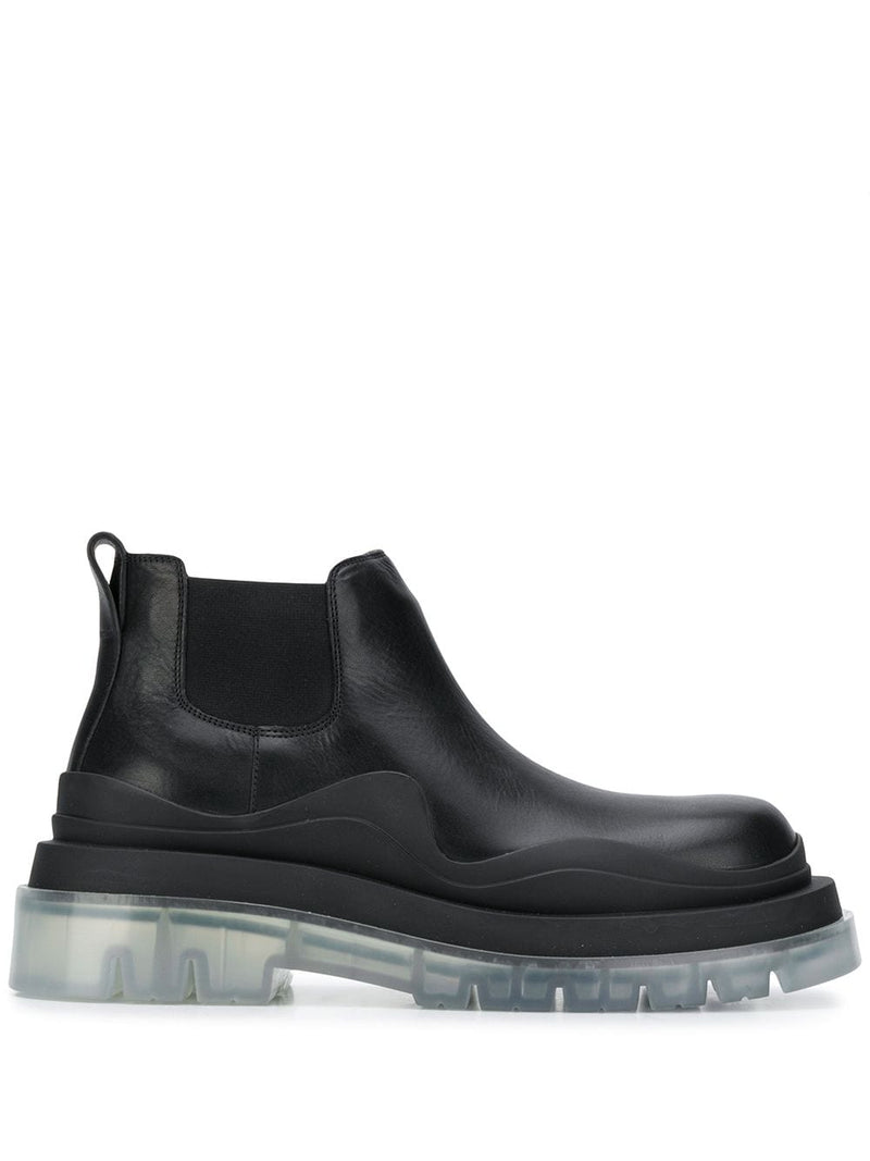 BOTTEGA VENETA WOMEN LOW TIRE BOOTS