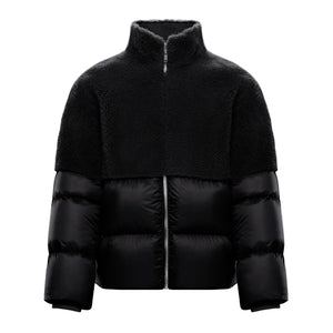 MONCLER + RICK OWENS UNISEX COYOTE SHERLING DOWN COAT