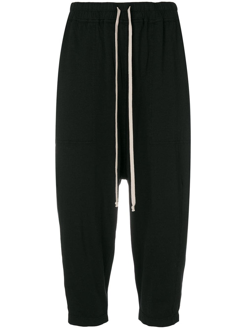DRKSHDW WOMEN DRAWSTRING CROPPED PANTS
