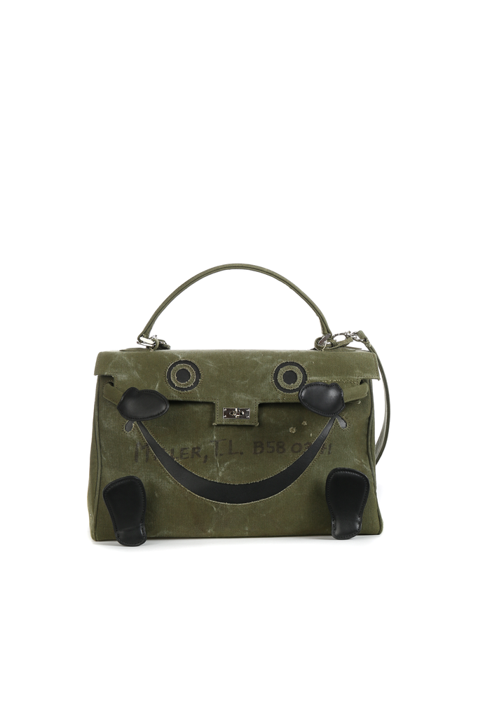 READYMADE VINTAGE ARMY TENT DOLL BAG