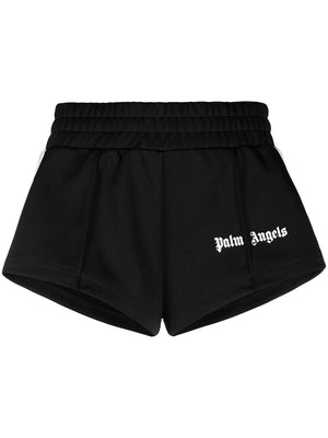 PALM ANGELS WOMENS TRACK HOT SHORTS