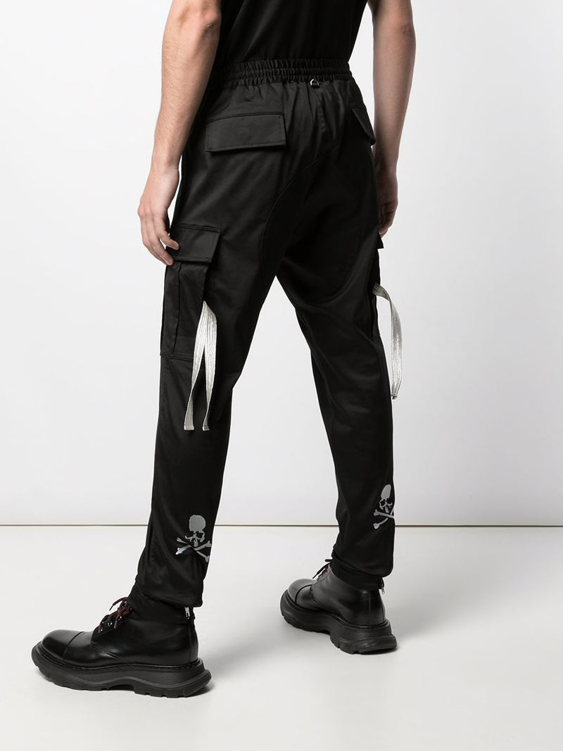 MASTERMIND WORLD MEN LOGO CARGO PANTS
