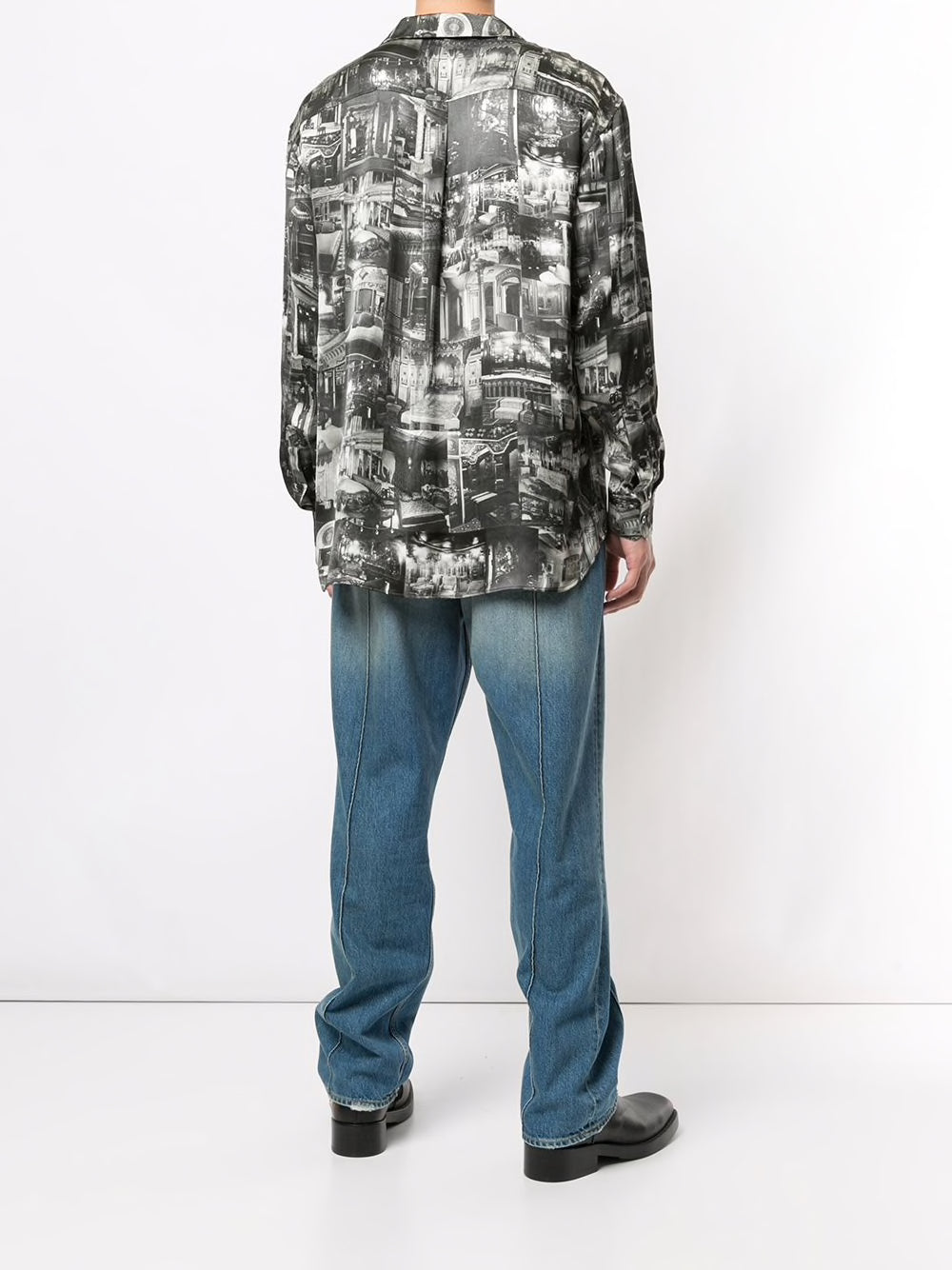 Y/PROJECT UNISEX PRINTED PYJAMA SHIRT
