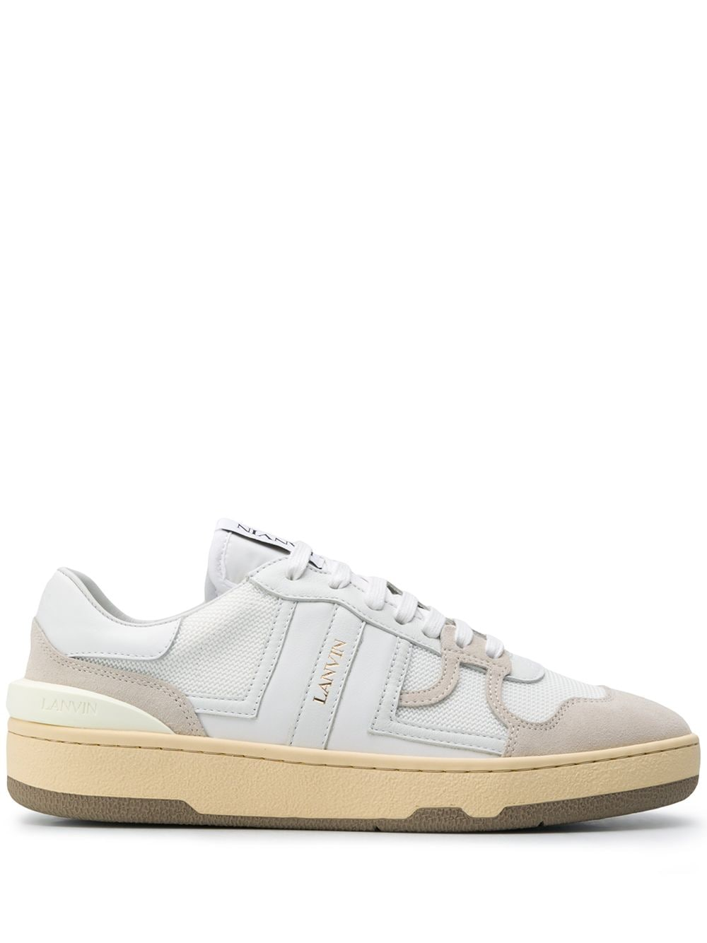 LANVIN WOMEN THE CLAY LOW TOP SNEAKERS