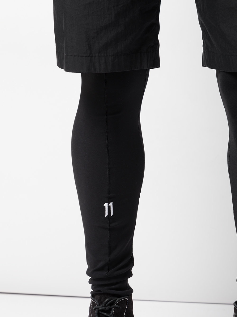 11 BY BORIS BIDJAN SABERI MEN LOGO LEGGING