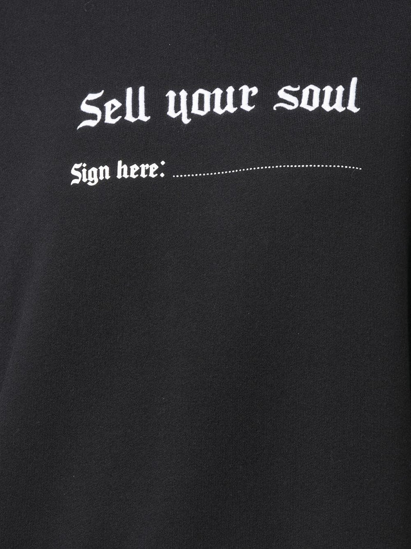 R13 SELL YOU SOUL SWEATSHIRT