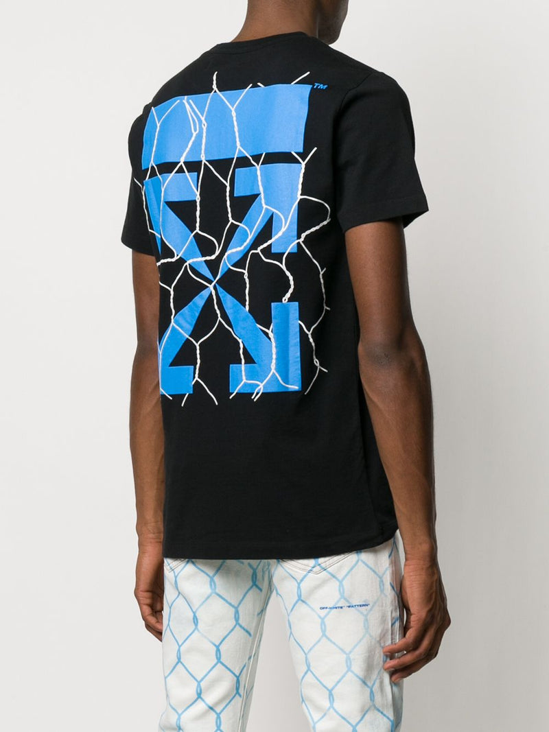 OFF-WHITE MEN FENCE ARROW S/S SLIM TEE