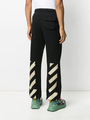 OFF-WHITE MEN TAPE ARROWS SLIM SWEATPANT