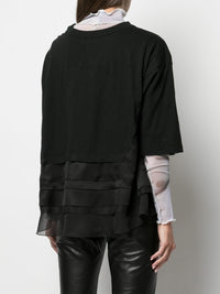 UNDERCOVER WOMEN TRIPLE LAYERED OVERSIZE T-SHIRT