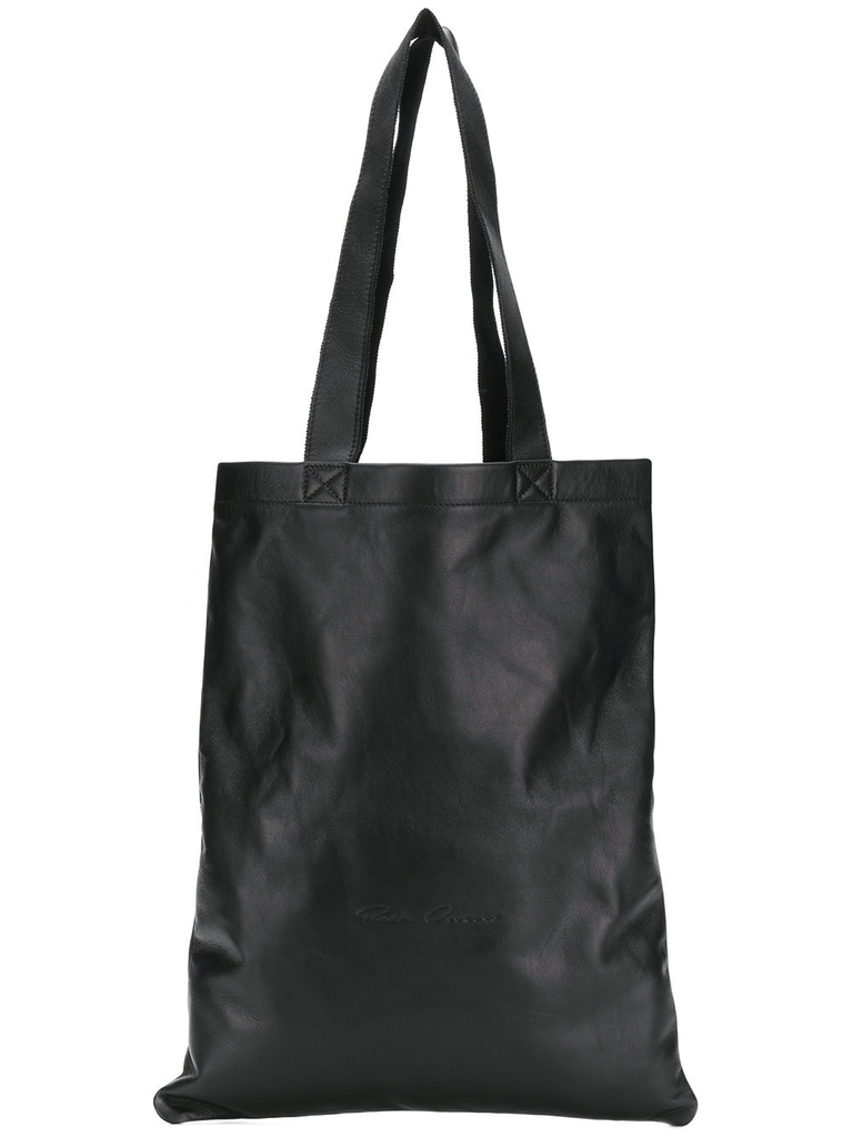 RICK OWENS UNISEX SMALL SIGNATURE TOTE