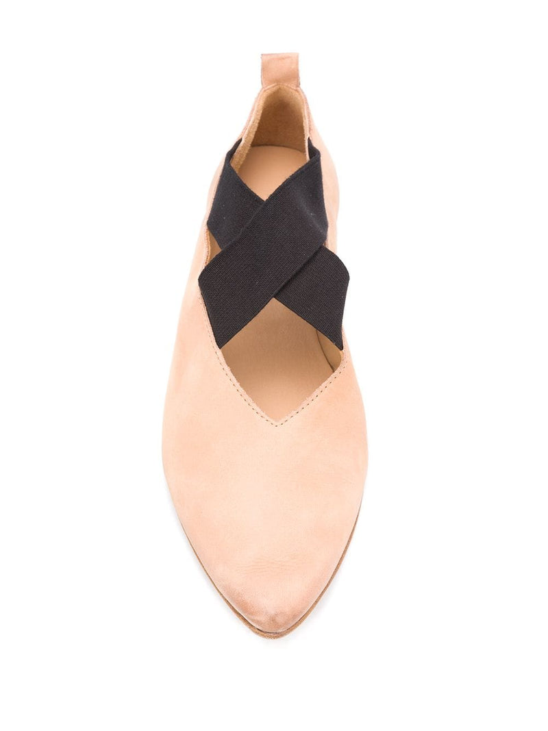 UMA WANG WOMEN POINTED BALLERINA SHOES