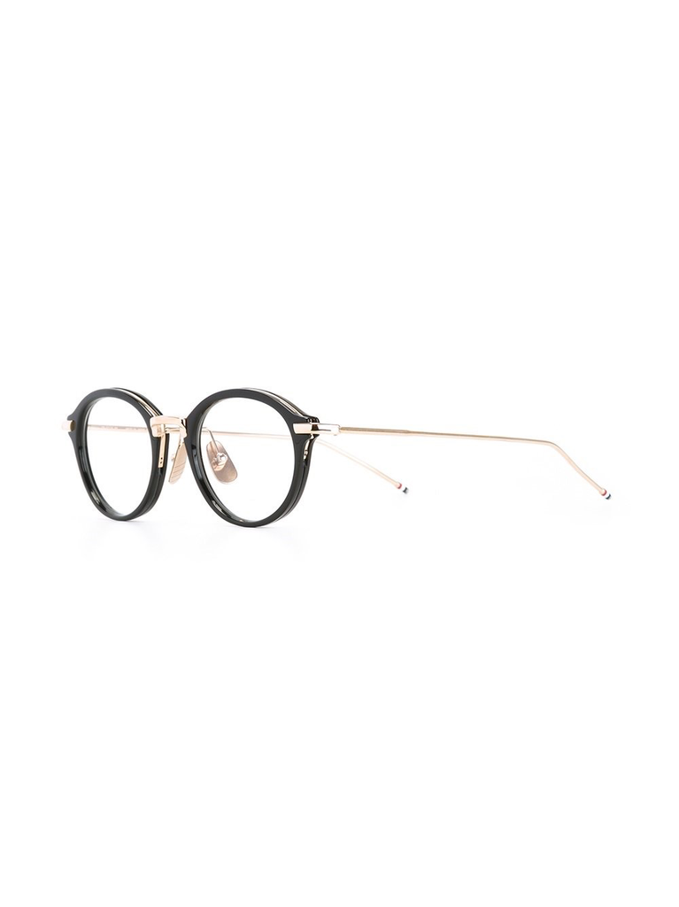 THOM BROWNE DITA EYEWEAR TB-011 BLACK-SHINY 12K GOLD