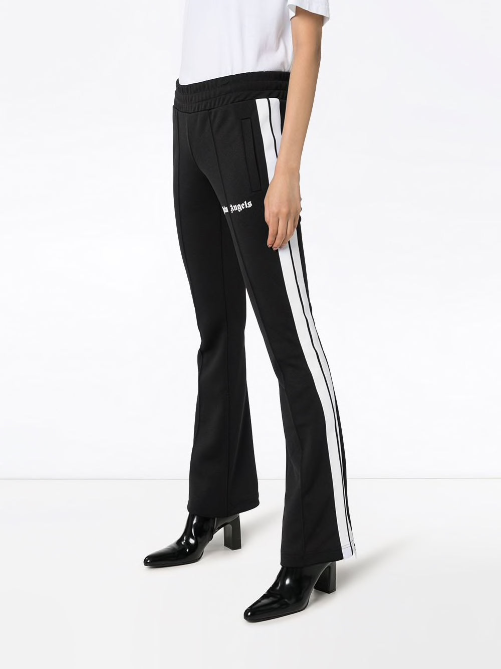 PALM ANGELS WOMEN NEW SKINNY TRACK PANTS