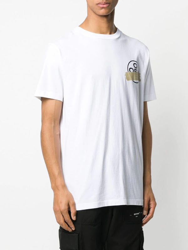 OFF-WHITE MEN TAPE ARROWS S/S SLIM TEE