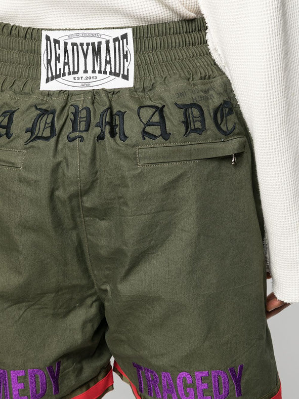 READYMADE MEN BOXING SHORTS WITH PATCH