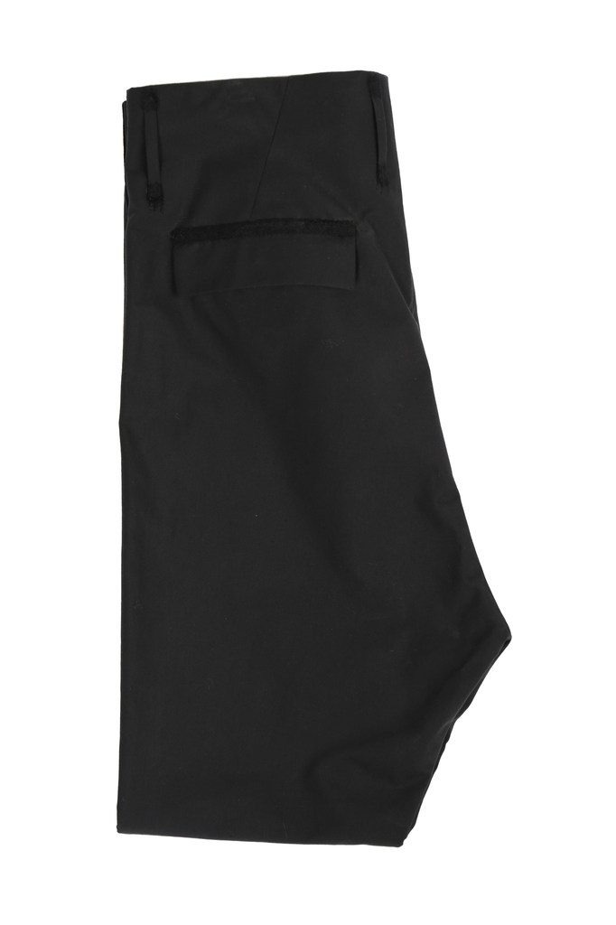 DEEPTI VULCANISED OPEN FLY LOW CROTCH TROUSERS