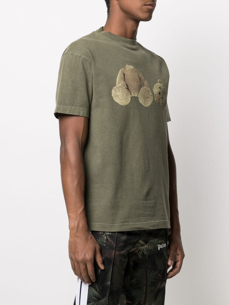 PALM ANGELS MEN PA BEAR CLASSIC TEE