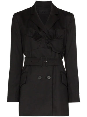 SIMONE ROCHA WOMEN BUSTIER TAILORED JACKET