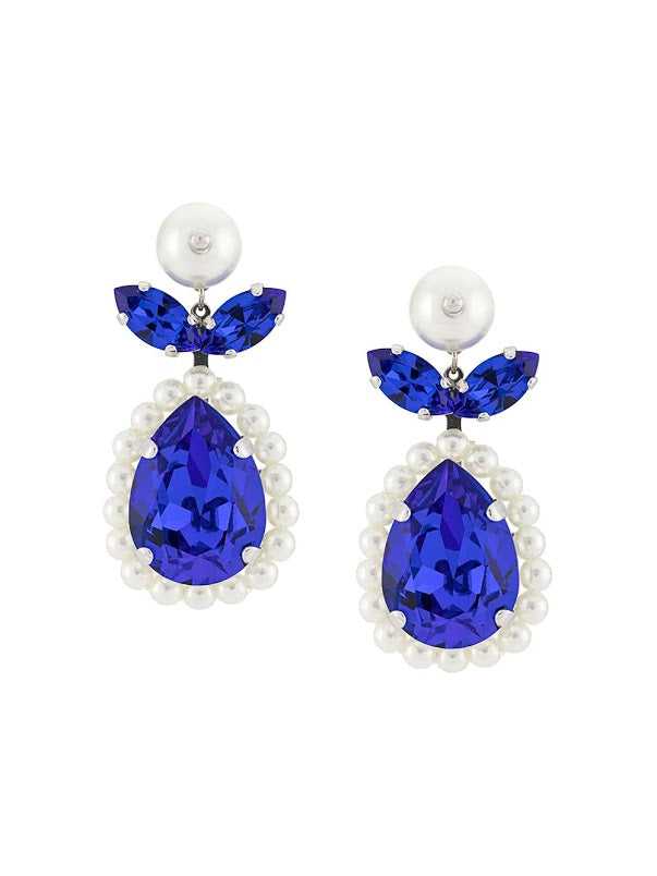SIMONE ROCHA WOMEN SMALL PEAR DROP CAMEO EARRING