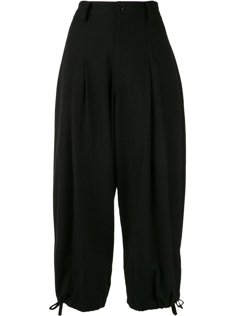 Y'S WOMEN TUCK PANTS
