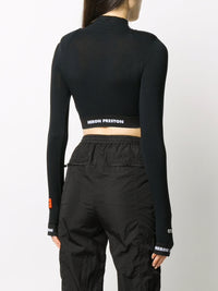 HERON PRESTON WOMEN LS CROP TOP CTNMB