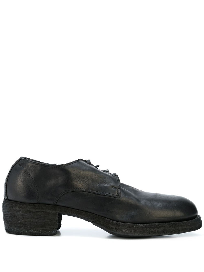 GUIDI MEN 792Z CLASSIC SOFT HORSE LEATHER DERBY