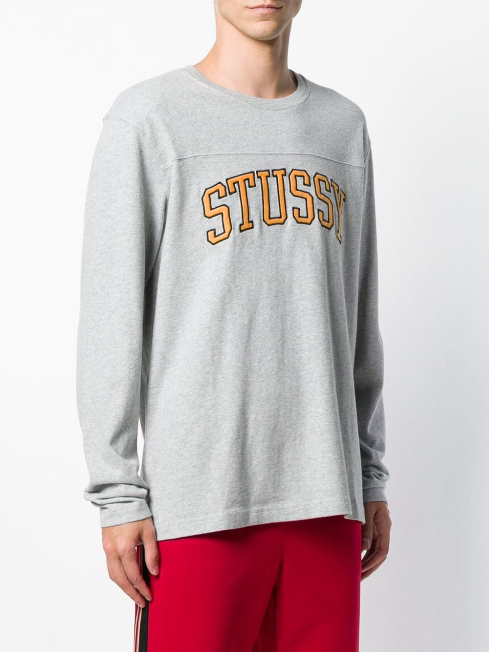 STUSSY MEN KENT FOOTBALL LS JERSEY