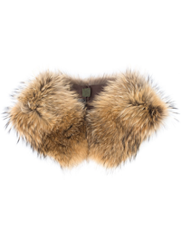 MR AND MRS ITALY RACCOON FUR COLLAR