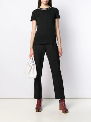 MAISON MARGIELA WOMEN NUMBER T-SHIRT