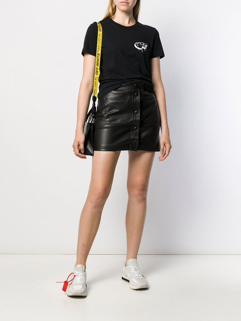 OFF-WHITE WOMEN MARKERS MASUAL TEE