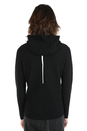 LABEL UNDER CONSTRUCTION MEN LUNAR HOODED SWEATER