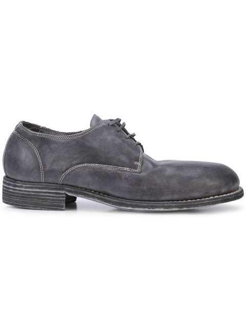 GUIDI MEN 992 HORSE LEATHER CLASSIC DERBY