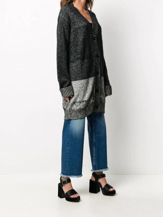 MM6 WOMEN LONG CARDIGAN