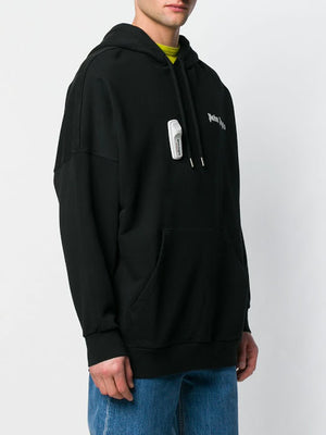 PALM ANGELS MEN NEW BASIC HOODY