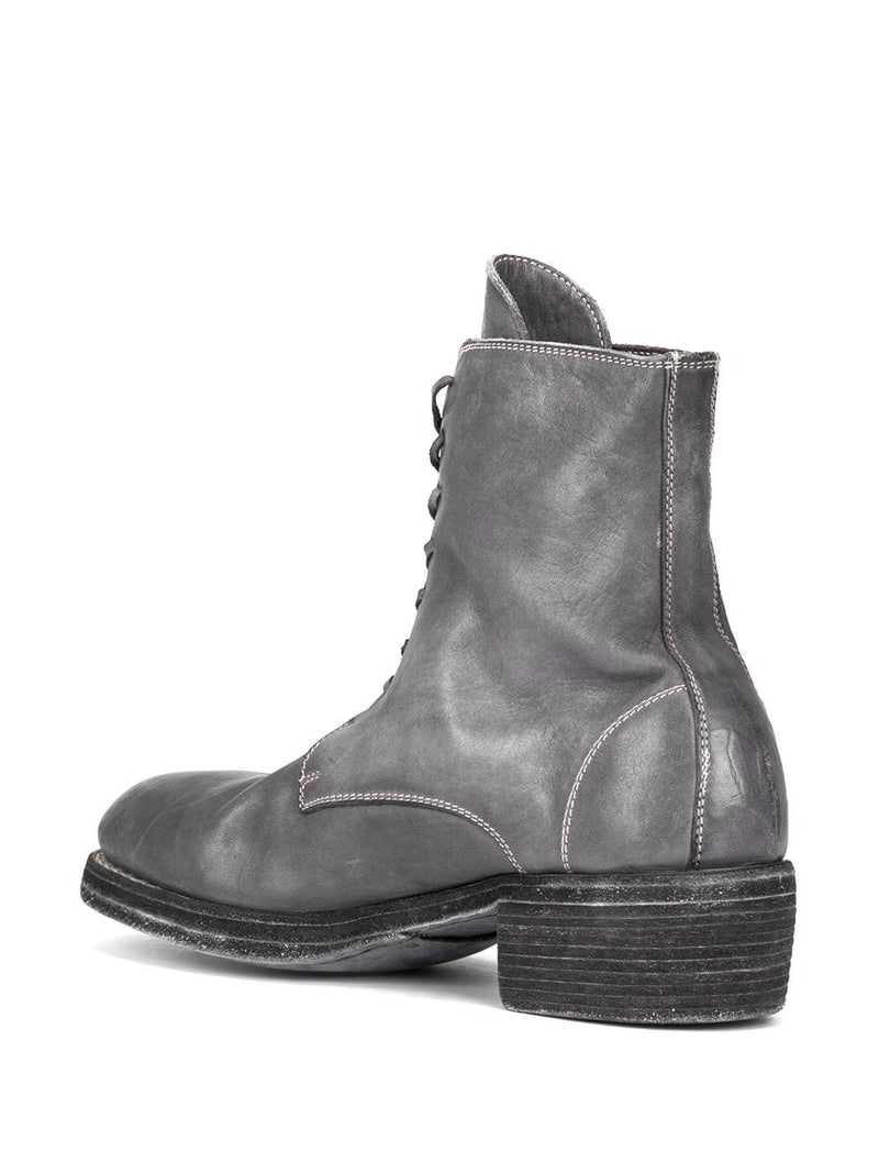 GUIDI 795Z SOFT HORSE LEATHER LACE UP BOOTS