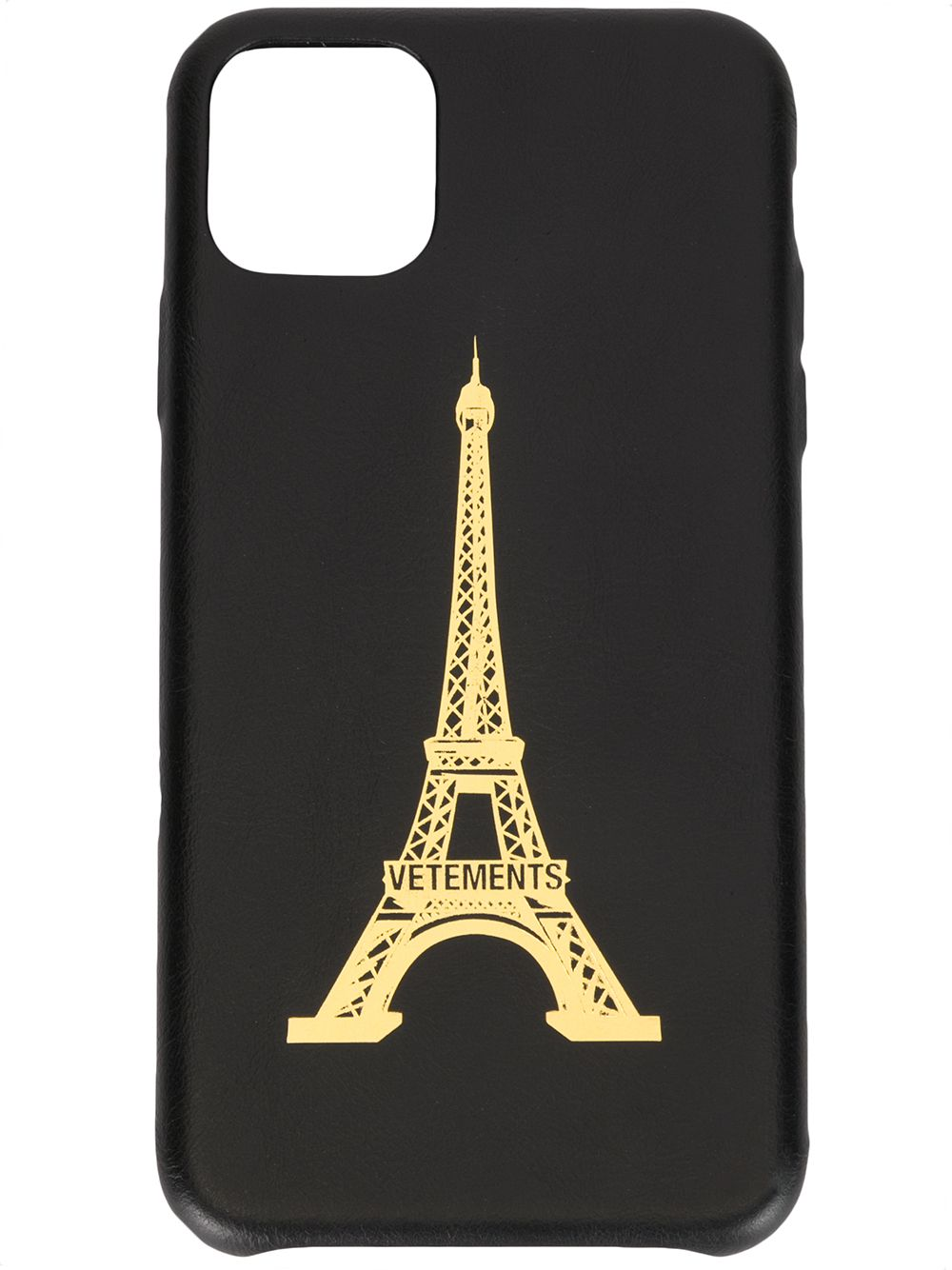 VETEMENTS EIFFEL TOWER IPHONE 11 PRO MAX LEATHER CASE