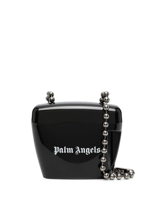 PALM ANGELS WOMEN MINI PADLOCK BAG