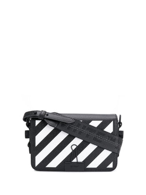 OFF WHITE WOMEN DIAG MINI FLAP BAG