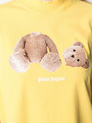 PALM ANGELS WOMEN GD PALM ANGELS BEAR LOOSE TEE