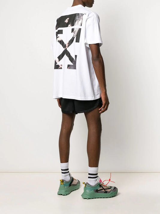 OFF-WHITE MEN CARAVAGGIO ARROW S/S OVER TEE