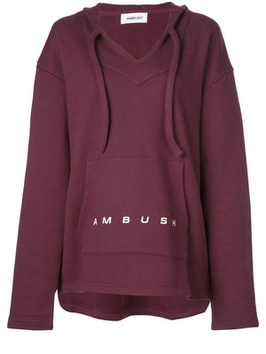 AMBUSH WOMEN BAJA SWEAT TOP