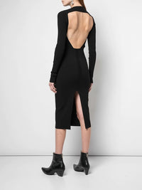 RICK OWENS WOMEN KNIT DRESS