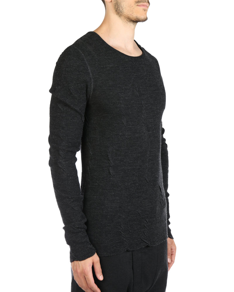 DEEPTI KNITTED LONGSLEEVE ROUND NECK