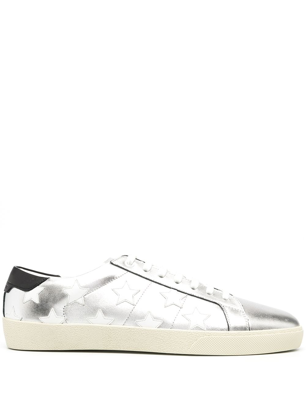 SAINT LAURENT MEN COURT CLASSIC STAR CALIFORNIA SNEAKERS