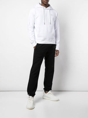 "OFF-WHITE MEN ""LOGO"" SLIM HOODIE"