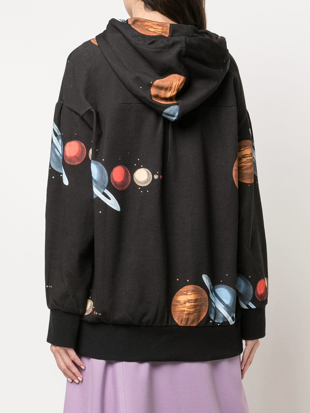 UNDERCOVER WOMEN REFLECTIVE PLANET HOODIE