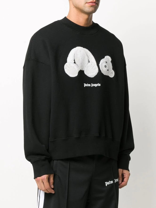 PALM ANGELS MEN PALM ANGELS ICE BEAR CREW