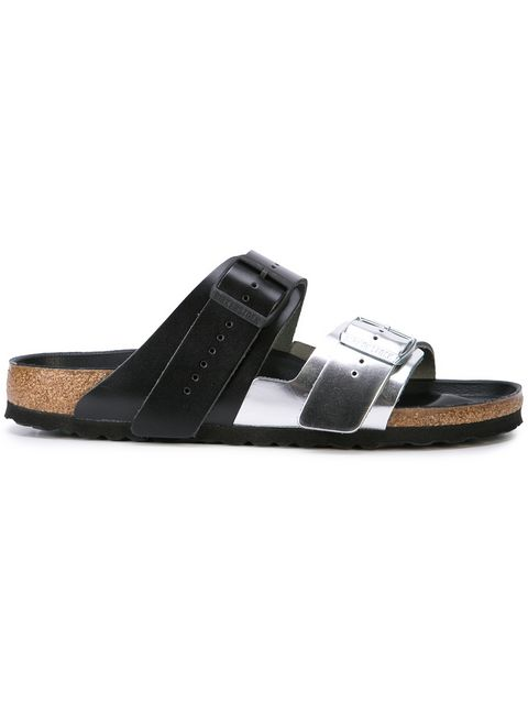 RICK OWENS X BIRKENSTOCK MEN ARIZONA EXTRO COMBO SANDALS